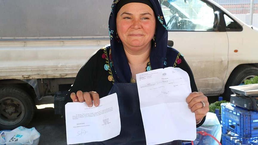 Kadın pazarcı, bağımsız milletvekili adayı oldu