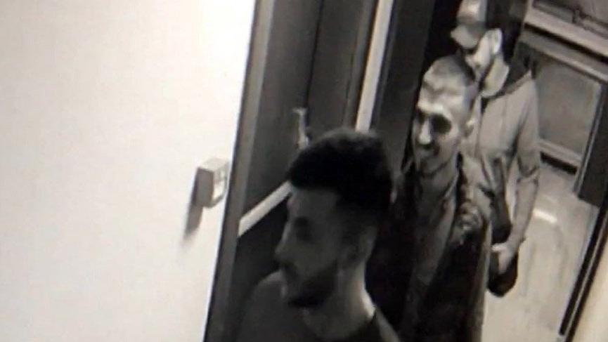 Rezidansda alem yapan hırsızların sonu cezaevi oldu