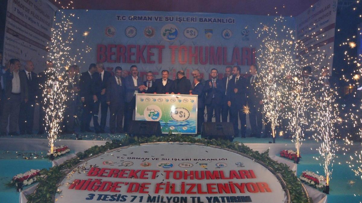 Bakan Eroğlu, sahurda temel attı