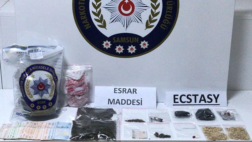 Samsun'da uyuşturucu satarken yakalanan kişiler serbest bırakıldı