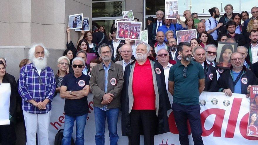 59. Adalet Nöbeti'ne sanatçılardan destek