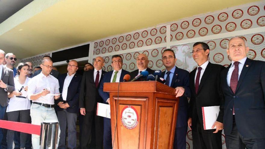 CHP İnce'nin adaylığını YSK'ya bildirdi