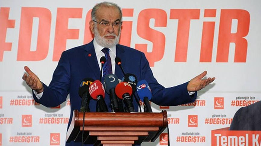 Karamollaoğlu'ndan hükümete eleştiri!