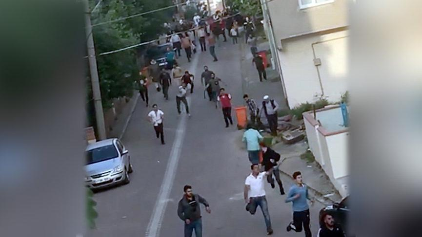 Bir kadını taciz ettiği söylenen Suriye'li ilçeyi karıştırdı