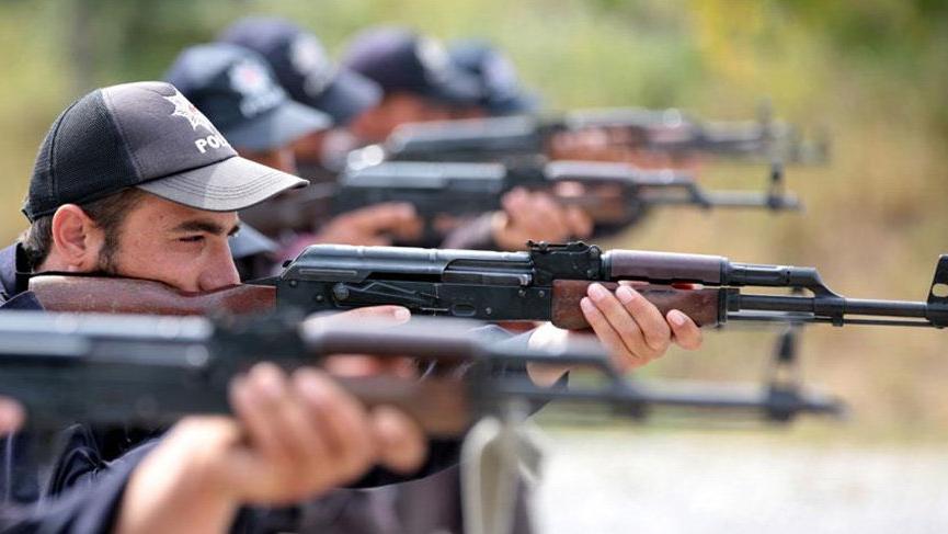 Afrin'in polisleri göreve hazır