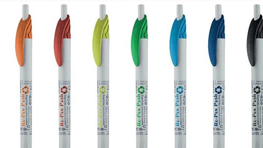 İçecek kartonlarından kalem üretiliyor!