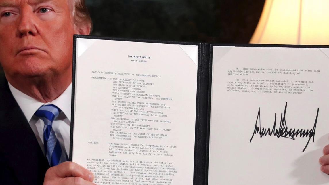 Trump, nükleer anlaşmadan ayrıldı, Dünya tepki gösterdi... Erdoğan'dan sert çıkış