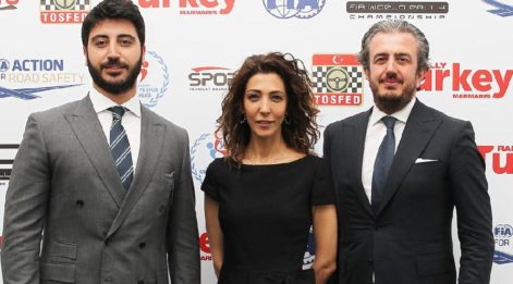 Ünlü isimler Rally Turkey için bir arada