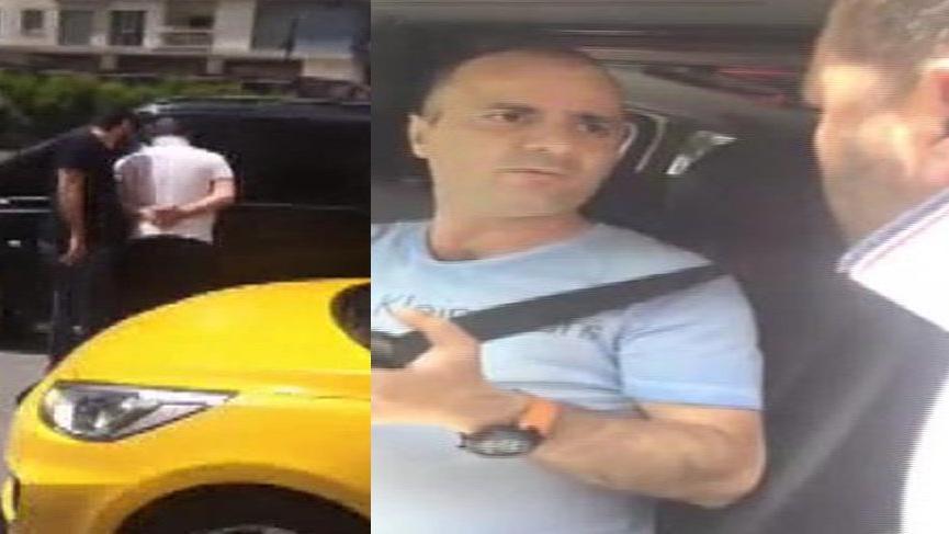 Uberci döven taksiciler serbest kaldı