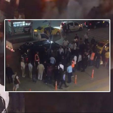 Uber'e Sabiha Gökçen'de saldırı