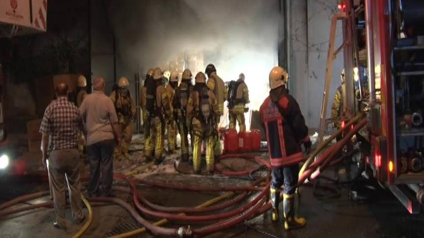 Gaziosmanpaşa'da yangın paniği!