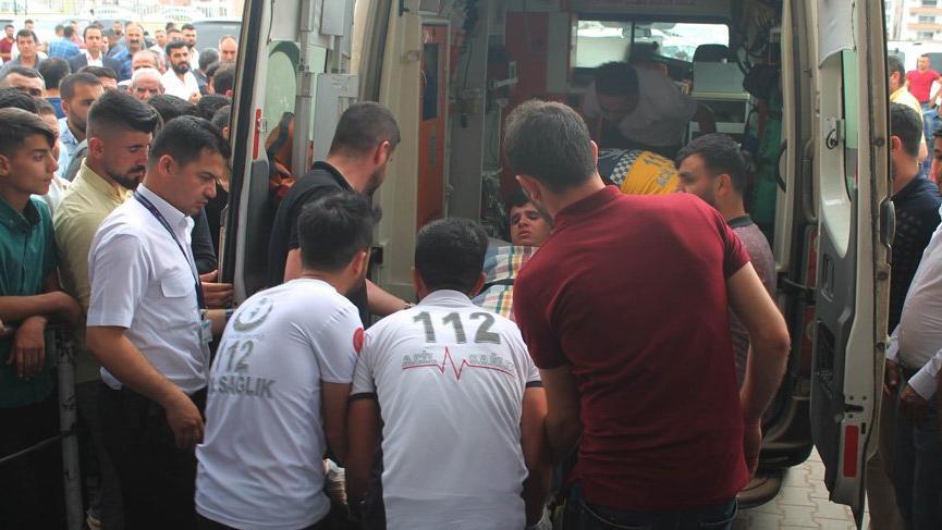 Şırnak'ta öğrencilerin üstüne yıldırım düştü!