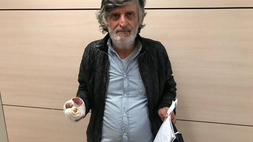 Yönetmen Faik Ahmet Akıncı'nın polisle 'köpek' kavgası