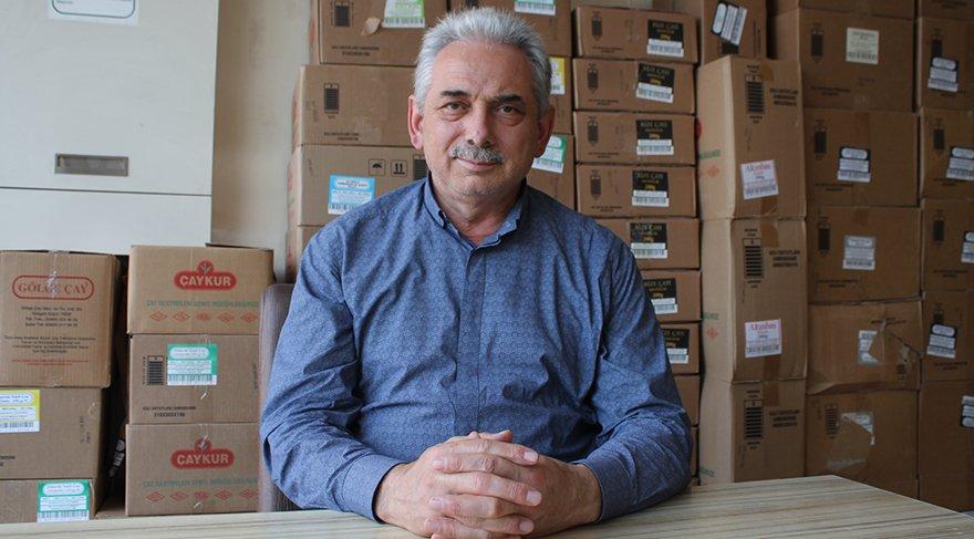 Gölge Çay'ın sahibi Mehmet Karaca