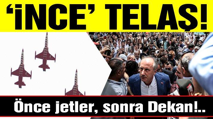 Muharrem İnce telaşı! Solo Türk'ün gösterileri iptal edildi, fakülte dekanı görevden alındı