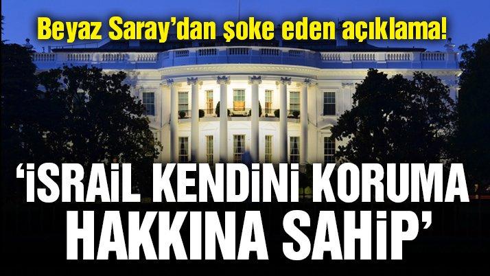 Beyaz Saray'dan İsrail'e destek…