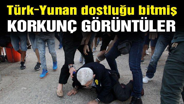 Türk dostu Yunan belediye başkanına linç girişimi