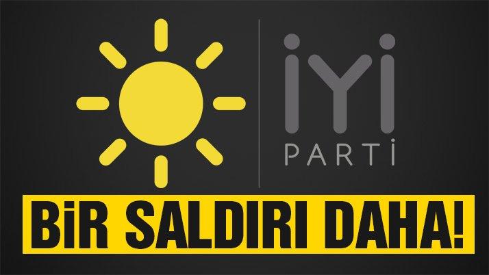Son dakika: İYİ Parti'nin Üsküdar'da bulunan standına saldırı