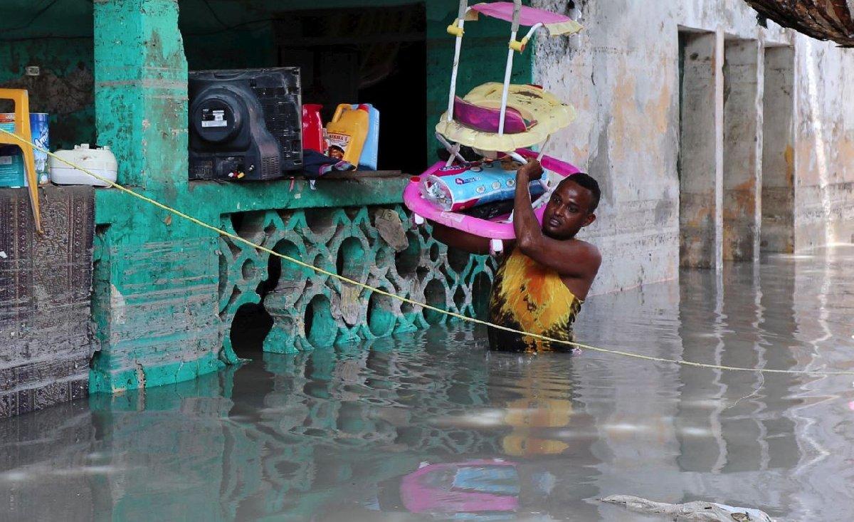 Küresel ısınmadan en çok etkilenen ülkelerden biri de Somali oldu.