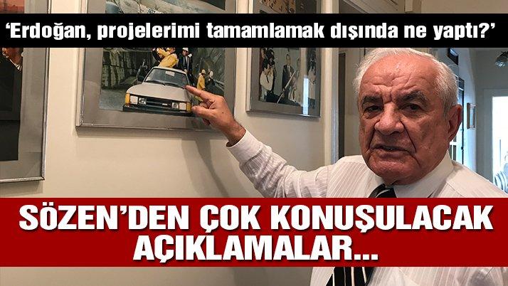 Nurettin Sözen'den Erdoğan'a: Ben Park oteli yıktım, sen Zeytinburnu'nda ne yaptın?