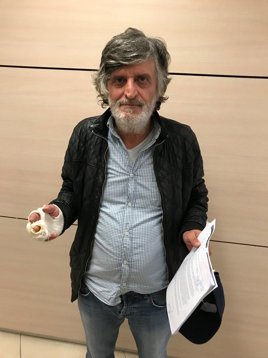 FOTO:SÖZCÜ - Yönetmen Akıncı, savcılığa giderek suç duyurusunda bulundu.