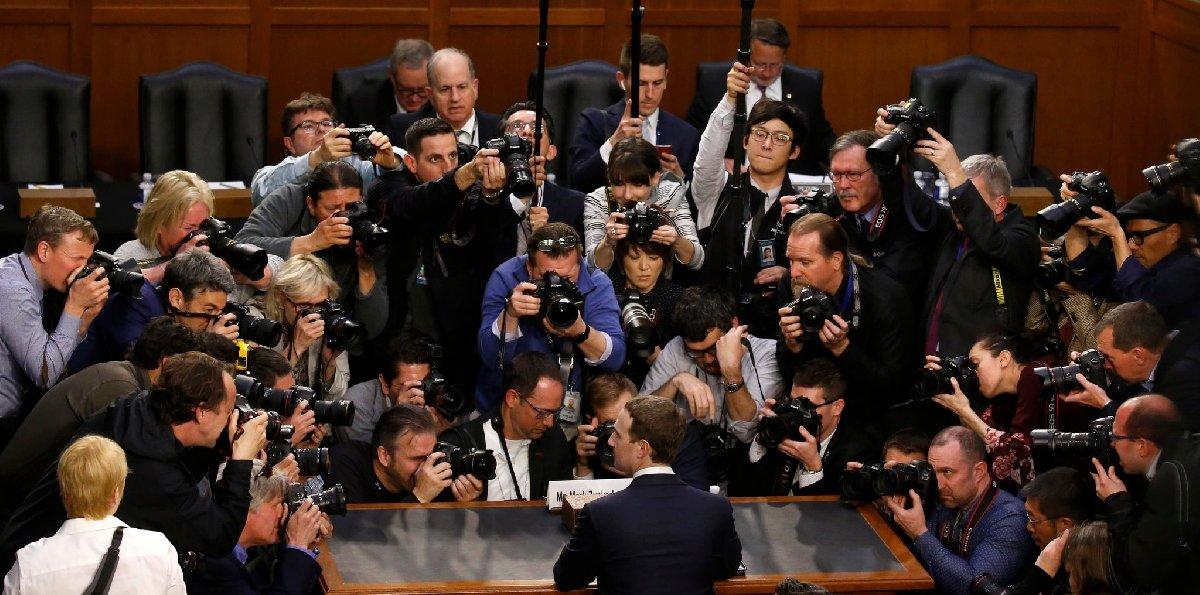 Zuckerberg Nisan ayında Kongre'de böyle ifade vermişti. Fotoğraf: Reuters