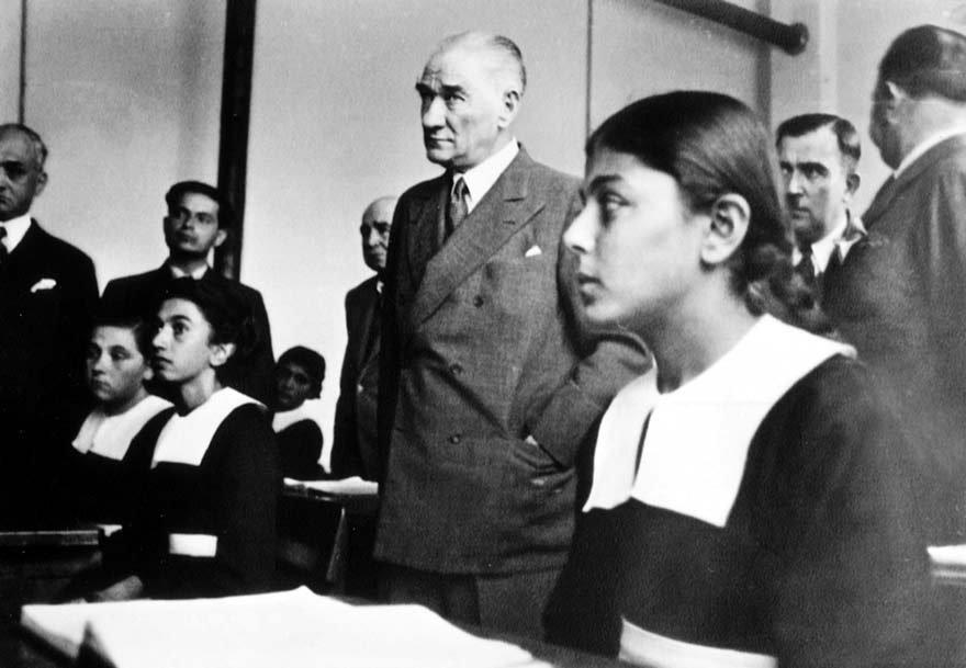 Atatürk'ün 'Yeni Türkiye'si her bakımdan çağdaş bir Türkiye'ydi.