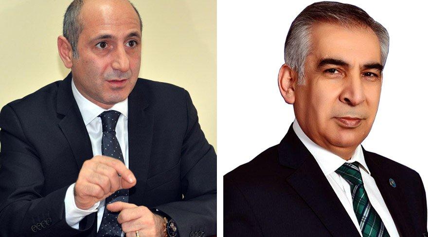 CHP'li Ali Öztunç (solda) vekilliği kazandı. İYİ Partili Faruk Atlı'nın vekillik sevinci bir gün sürdü.