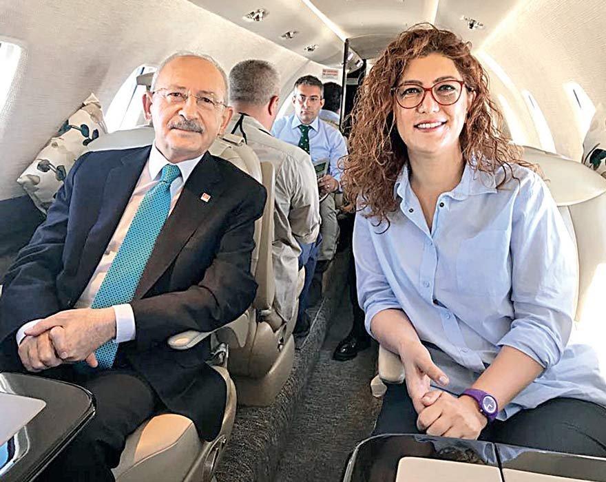 Kılıçdaroğlu, muhabirimiz Başak Kaya'nın sorularını uçakta cevapladı