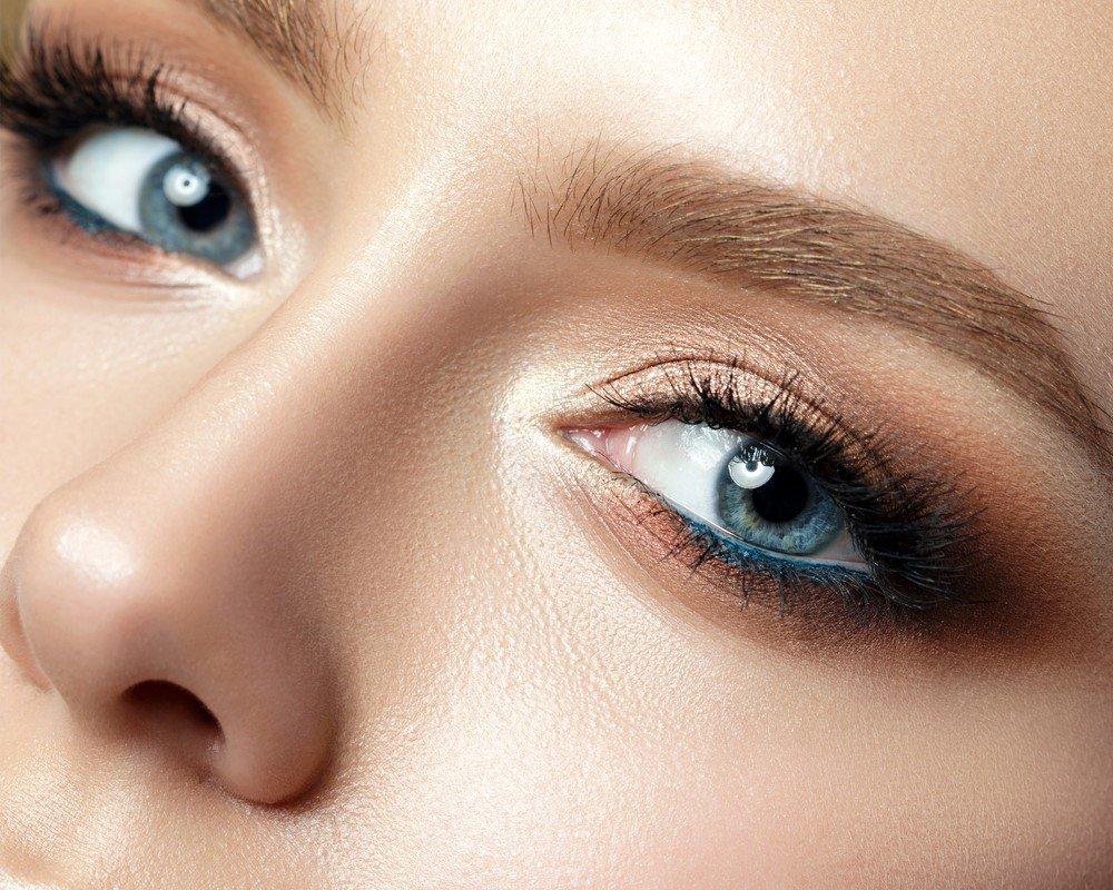 Koyu Kahverengi ve Siyaha Yakın Gözler