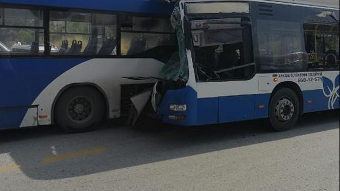Ankara'da feci kaza: Bir kişi öldü, on altı kişi yaralandı
