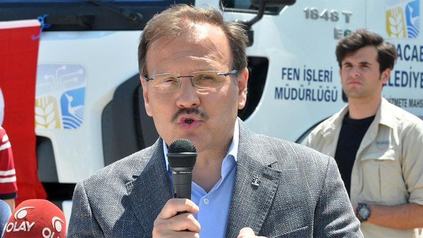 Bakanın dayıoğlu başkan oldu