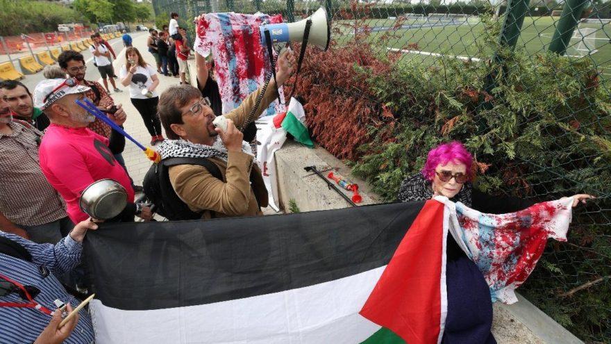 Arjantin İsrail'le hazırlık maçını iptal etti