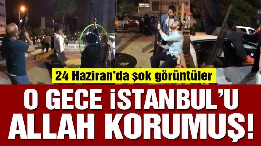 Seçim günü İstanbul'u Allah korumuş!