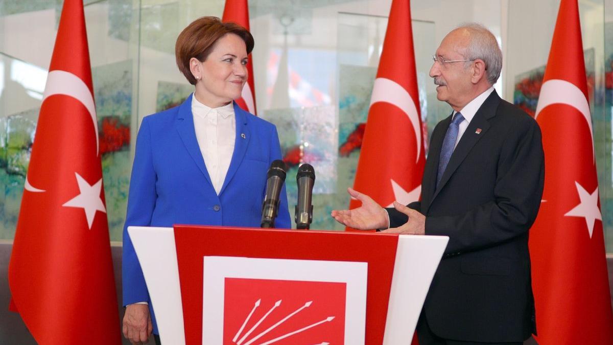 Akşener ve Kılıçdaroğlu bir araya geldi