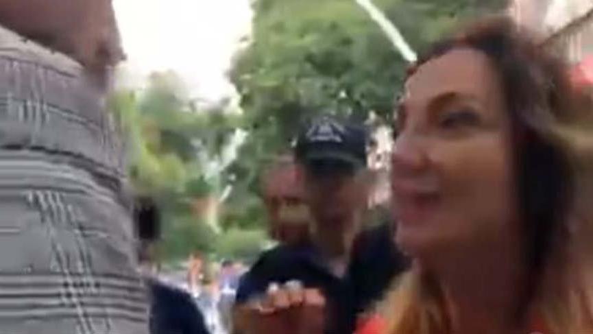 CHP'li Nazlıaka YSK önünde polisle tartıştı