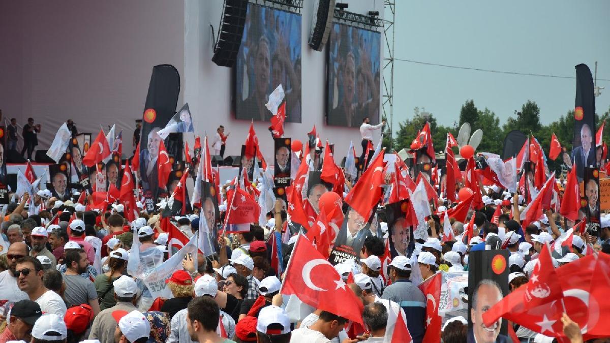 İstanbul'da Muharrem İnce günü...