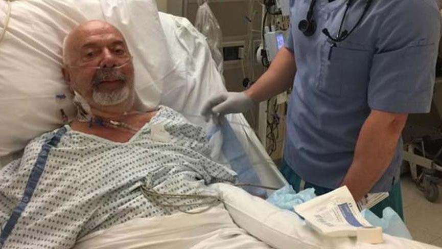 Erkan Yolaç hastaneye kaldırıldı