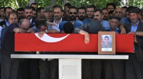 Şehit Sözleşmeli Piyade Onbaşı, Malatya'da gözyaşlarıyla uğurlandı