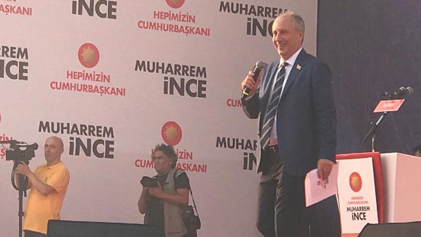 Muharrem İnce İzmir'de tarihi kalabalığa seslendi!
