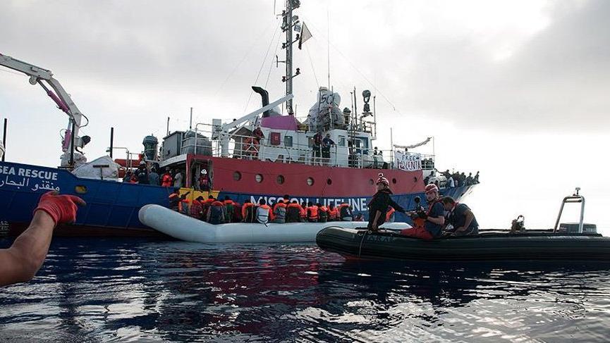 Göçmenleri kurtaranlara tutuklama tehdidi!