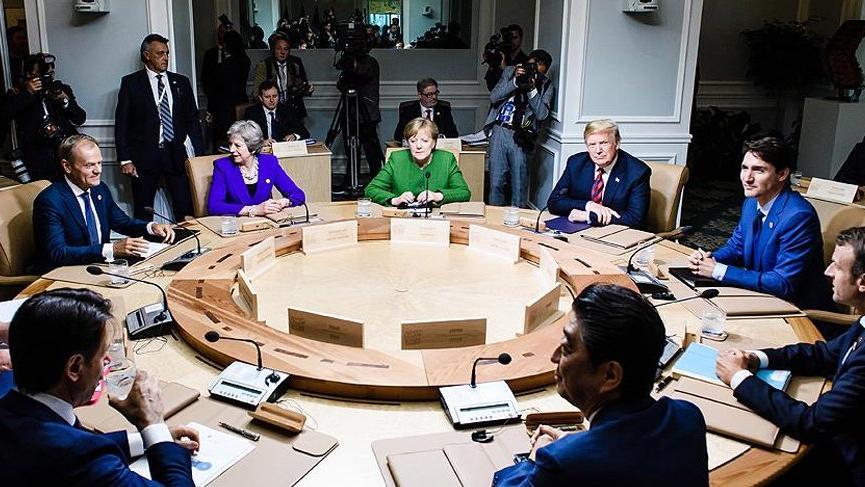 AB'den Trump'a G-7 için sert tepki