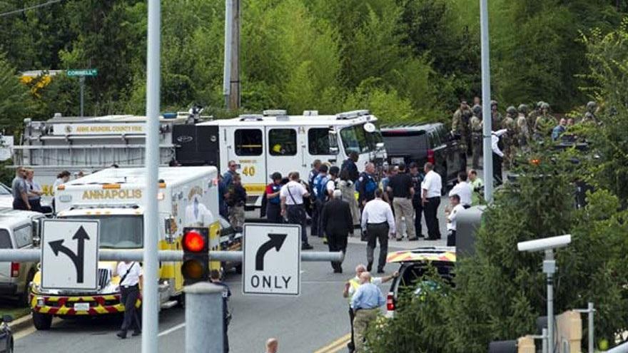 ABD'de gazete binasına silahlı saldırı