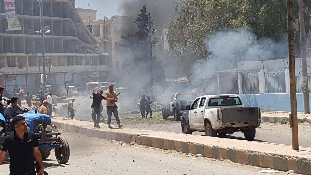 Afrin'de patlama: 10 ölü 20 yaralı