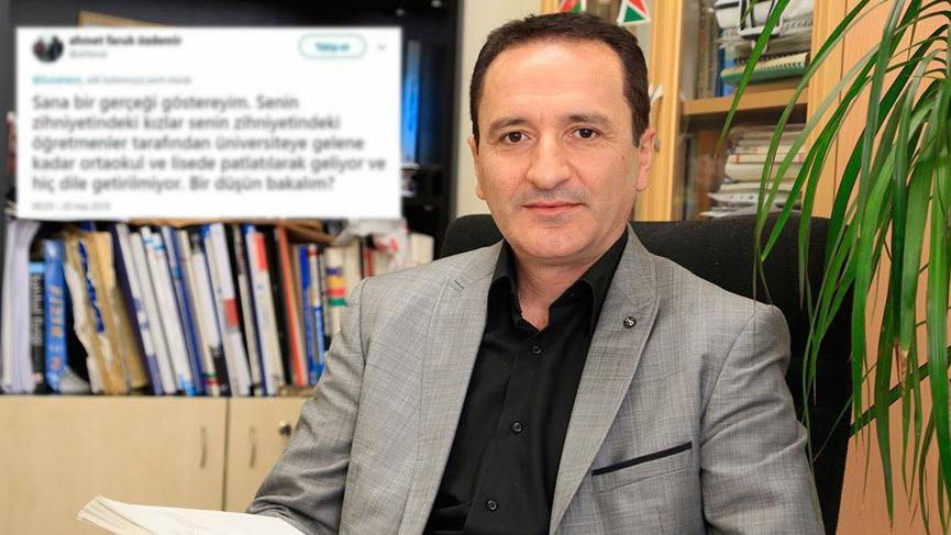 Fizik profesörü Ahmet Faruk Özdemir'e soruşturma
