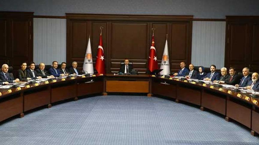 Erdoğan başkanlığındaki zirve sona erdi