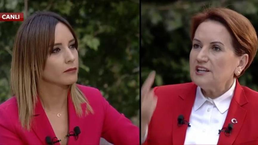 Meral Akşener Star TV canlı yayınına katıldı