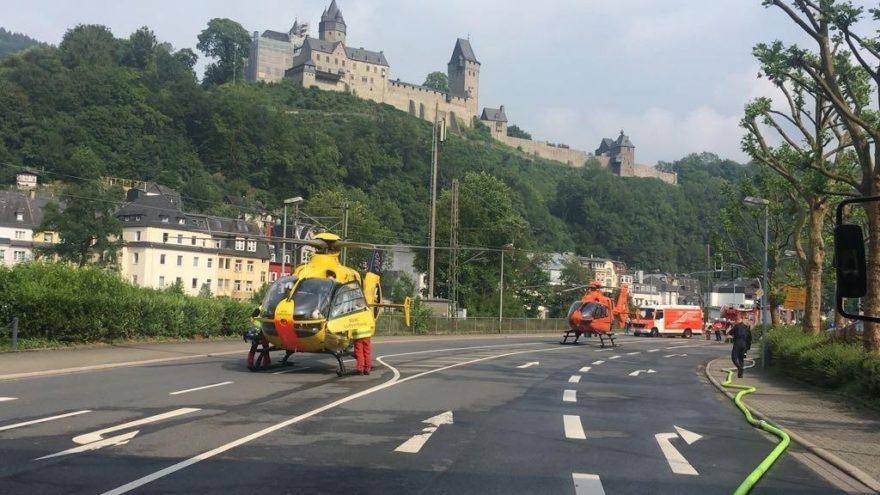 Almanya'da korkutan kaza: 5 Türk ağır yaralandı