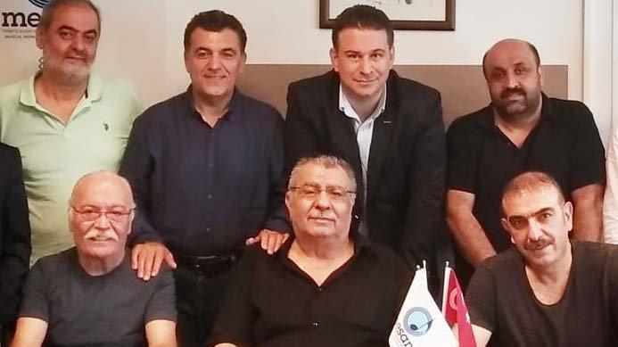 MESAM'da yeniden yönetime seçilen Arif Sağ ve ekibi ilk kez toplandı