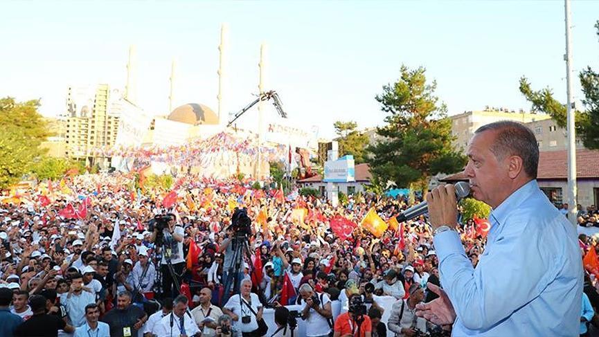 Cumhurbaşkanı Erdoğan Mardin'de!